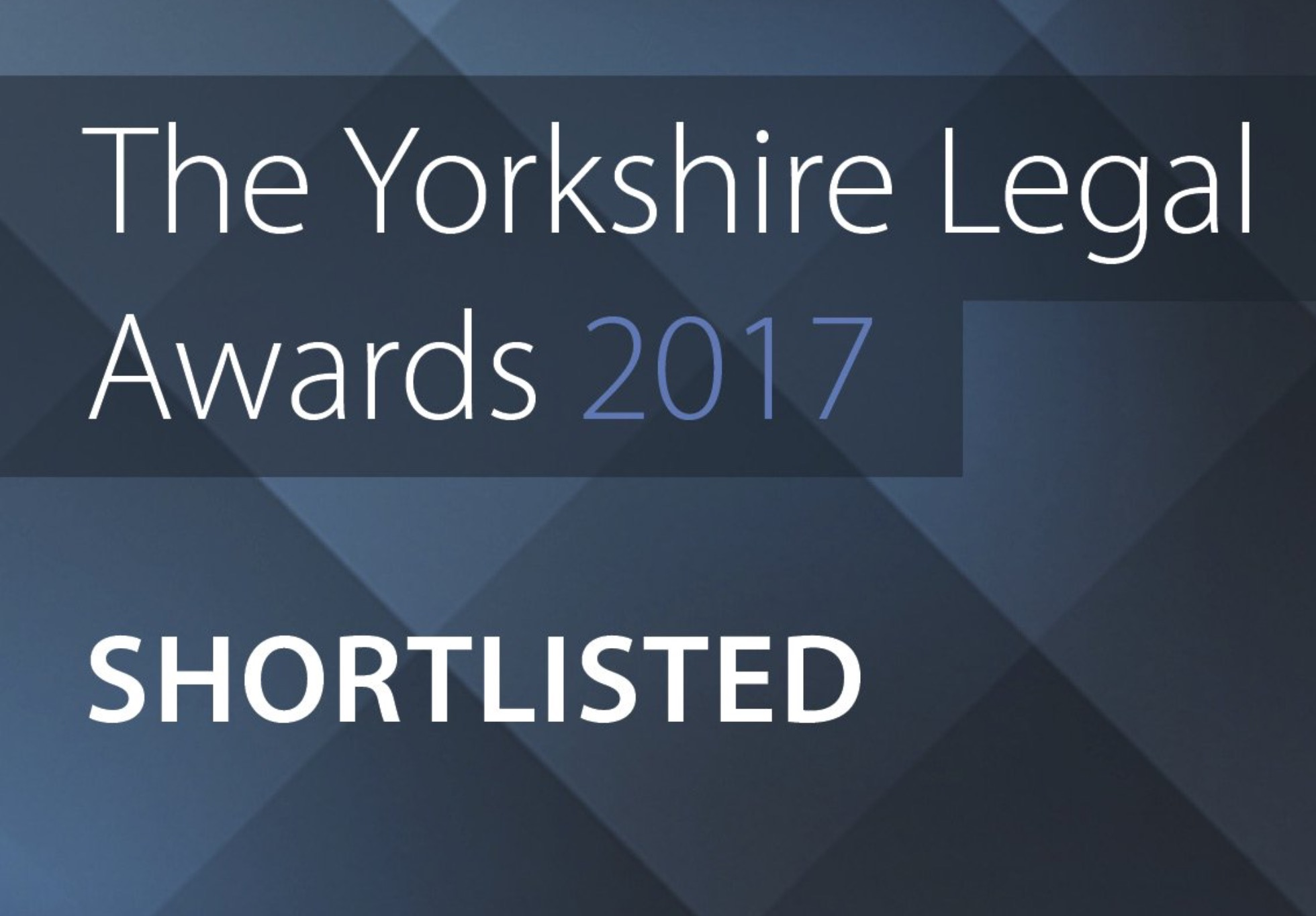 Yorkshire Legal Awards 2017