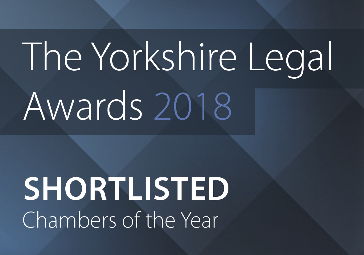 Nomination recognition for Legal Award