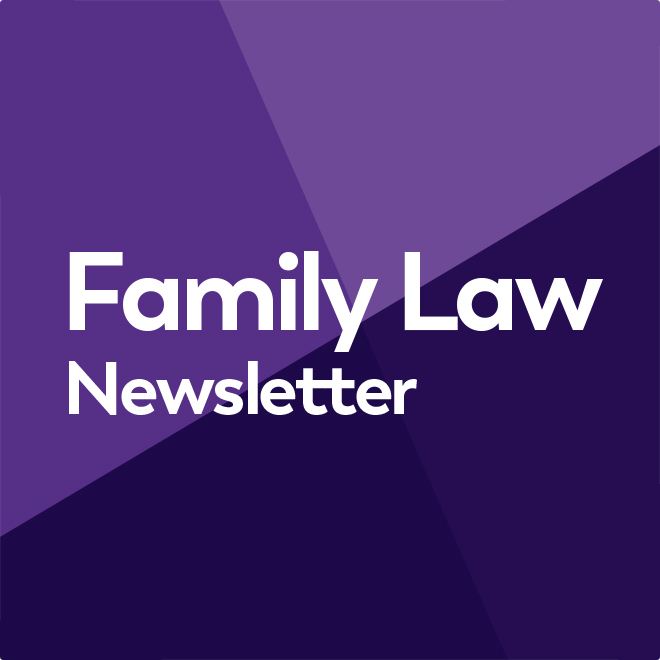 Family Law Newsletter #23